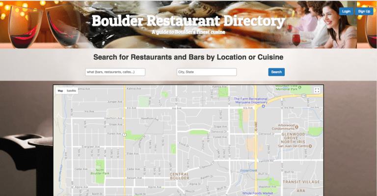 Boulder Restaurant Directory