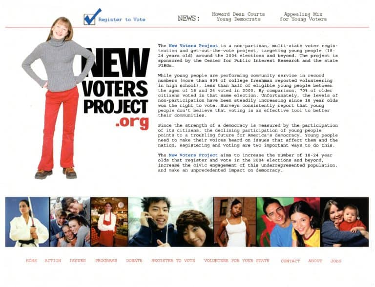 NewVoters.org