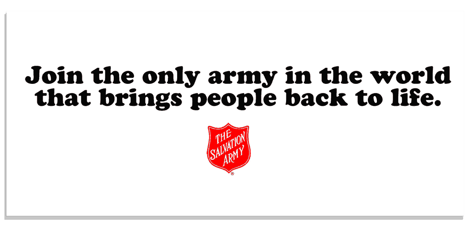 Salvation Army #1